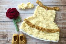 Vestidos de Crochê - Princesas