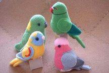 háčkovaní ptáčci
