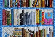 könyvtár quilt