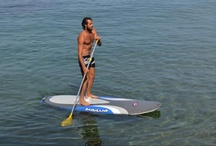 Stand Up Paddling / Our Stand Up Paddleboards, brand NAISH, are boards similar to the surf ones, but much more stable, above which it is possible to stand even when stationary, and go forward with the use of a long oar. We organize lessons, courses and guided tours combined with snorkeling.