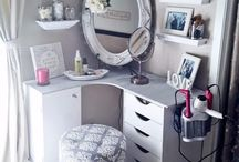 make-up dressers ideas