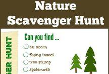 Scavenger hunt lists