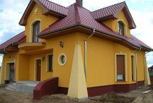 Hausfassade mit  Decor System Stuckelementen