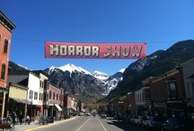 "Telluride Horror Show / Named one of the ""20 Coolest Film Festivals"" in 2011 by MovieMaker Magazine, the Telluride Horror Show is a 3-day genre film festival held every mid-October in Telluride, Colorado."