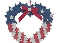 Forth of July/Memorial Day Crafts / by Michelle Cannuli