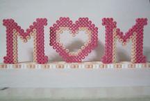 Hama Beads - Festa della mamma