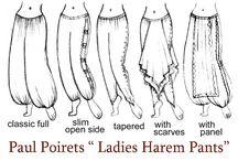Poirets ladys harem pants
