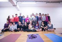 Workshop Ashtanga Yoga Elena De Martin / Scatti e Impressioni di Pupi Raponi. Tre giorni dedicata alla pratica e alla filosofia dell'Ashtanga. Grazie ad Elena per la sua generosità nell'insegnamento