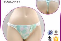 Cotton Sexy Thongs Women's Panties Plain Dyed new Update