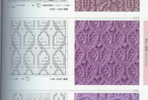 KNITTING patterns and charts / New patterns and ideas