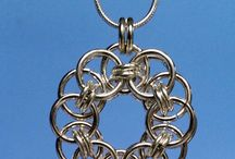 """Chain Maille Pendants / Pendants are the """"go to"""" pieces of jewelry. Chain Maille pendants are the kind that get noticed and go with everything"""