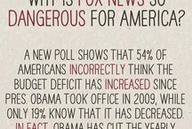 ✩ISSUES ~ POLITICS: FOX ~ RUSH ~ TEA PARTY ~ KOCH BROTHER'S... = BLATANT LIES, PROPAGANDA & HATE / by Diane Davis