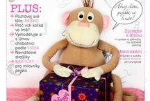 Opička UMA / Dětský elektronický časopis z dílny Praktické ženy || Electronic magazines for children