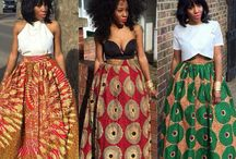 Dashiki skirts