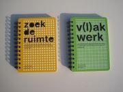Zoek de Ruimte: beeldende vorming met alledaagse materialen. / Een boekje met verschillende materialen en technieken.  Alle lessen komen uit de praktijk. www.facebook.com/zoekderuimte www.zoekderuimte.nl