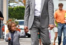 Famouse Dad & Son / Famouse Dad & Son  #celebrities #dadandson