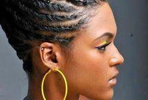 coiffure femmes afro