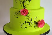 Lime and pink