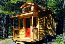 tiny house/writer's retreat/cottage / Inspiration for my future/alternate life tiny home.