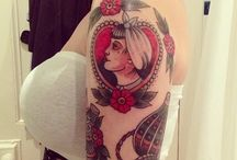 Neo traditional tattoos for women / Many nice tattoos