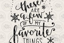 Favorite things....