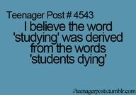teenager posts (I'm not like all of them)