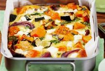 Roasted Pumpkin & Feta Pie