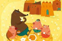 Les 3 petits cochons / by Nathalie L