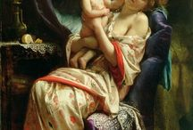 MOTHERHOOD / Mothers in the world, in vintage and modern illustrations or in paintings