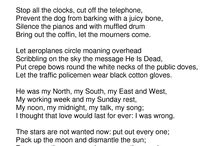 Auden, W. H. (UK, 1907-1973)