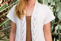 Free Patterns for Hand Knitted Sweaters / The sharing of free patterns for cardis, tops and sweater !!