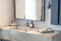 32 Trendy und Chic Industrial Badezimmer Vanity Ideen
