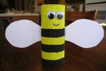 Nápady pro děti - včely