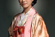 Korean actor Hanbok