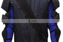 "Blackbeard Pan Movie Hugh Jackman Jacket / Hollywood Hung Hugh Jackman Jacket from the Movie ""Pan"" 2015, You can buy this jacket from LeathersJackets.com and Get FREE of Cost Shipping to your Doorsteps in USA, UK and Canada."