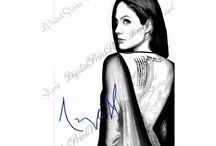 ✿ڿڰۣ(̆̃̃• Our Celebrity with Autograph Arts ✿ڿڰۣ(̆̃̃•