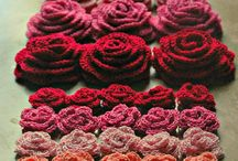 Crochet :: Patterns ♡ Flowers and little touches