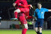 Berwick Rangers 23 Feb 16 / Pictures from the SPFL League Two game between Berwick Rangers and Queen's Park. Match played at Sheffield Park on Tuesday 23rd February 2016.  The score was 1-1.