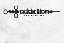 """-Addiction by Stratis- / My collection """"addiction by stratis"""" refers to all kinds of addictions: alcohol, drugs, sex, women..My designs have a rock, wild and gothic texture so as to reflect the darkness and the internal conflicts that an addict faces daily. My aim is not to embellish the addictions. On the contrary, my main concern is to show a universal social problem which has been disturbingly growing in the last few years. -STRATIS-"""