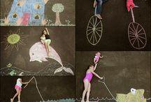 side walk chalk ideas
