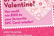 Be Our SPC Card Valentine / by Allison O'Connell
