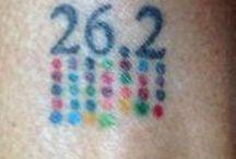Läufertattoos / Anregungen für ein Tattoo zum Thema Laufen...