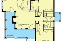 Hus ritningar/ planlösningar (house  plans)