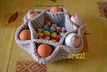Kötött, horgolt húsvét (Knit, crochet Easter)