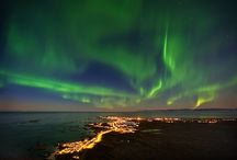 Aurora Polaris  / Aurora borealis. Pictures from Norway