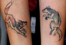 Wolf tattoo idea / Inspiration for my new tattoo