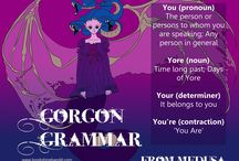 The Word Crew: Gorgon Grammar / Top tips and dirty tricks from the Bandit's very own Word Crew.