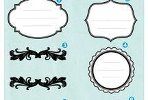 Etiquetas, letreros & más