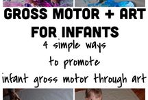 Gross Motor activities for infants