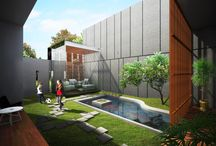 KAMANDAKA House / Programmatic : Housing Location : Bandung, Indonesia   gubah ruang #gubahruang  www.gubahruang.com